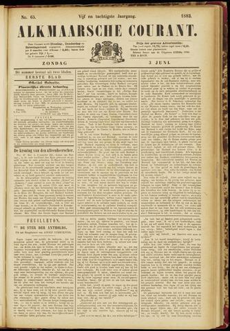 Alkmaarsche Courant 1883-06-03
