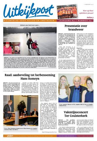 Uitkijkpost : nieuwsblad voor Heiloo e.o. 2017-02-01