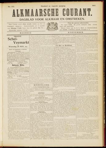 Alkmaarsche Courant 1907-11-18