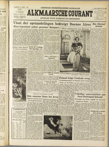 Alkmaarsche Courant 1955-09-19