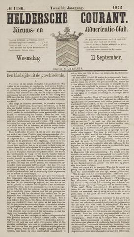 Heldersche Courant 1872-09-11