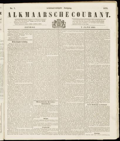 Alkmaarsche Courant 1876-01-02