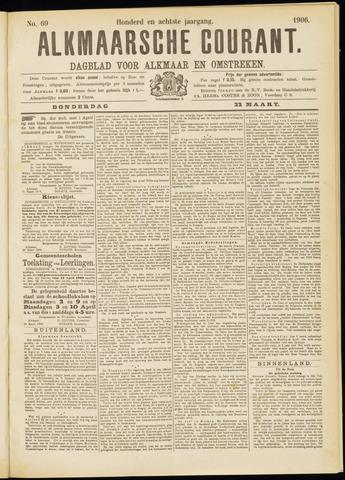 Alkmaarsche Courant 1906-03-22