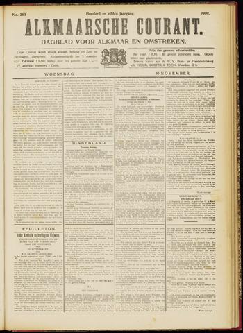 Alkmaarsche Courant 1909-11-10