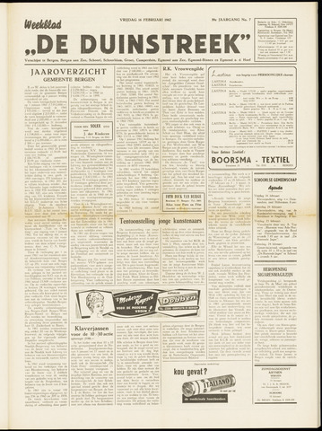 De Duinstreek 1962-02-16