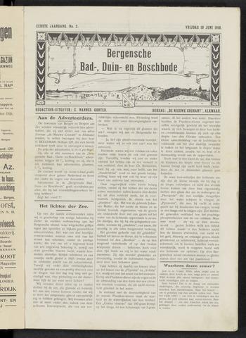 Bergensche bad-, duin- en boschbode 1910-06-10