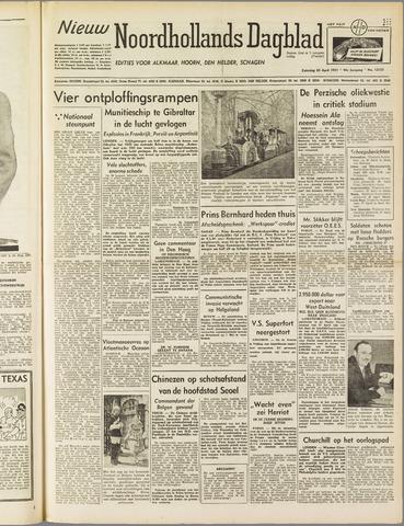 Nieuw Noordhollandsch Dagblad : voor Alkmaar en omgeving 1951-04-28