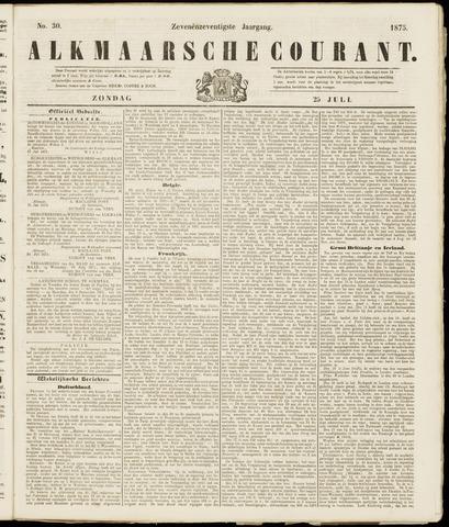 Alkmaarsche Courant 1875-07-25