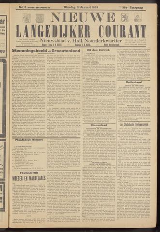 Nieuwe Langedijker Courant 1929-01-08