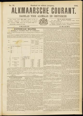 Alkmaarsche Courant 1906-03-02