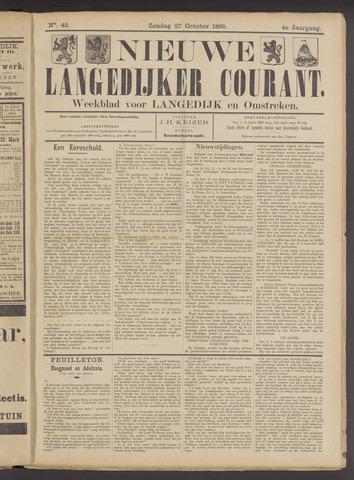 Nieuwe Langedijker Courant 1895-10-27