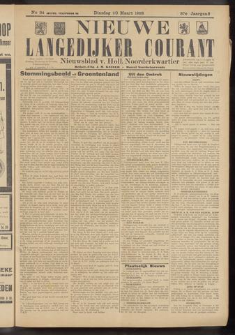 Nieuwe Langedijker Courant 1928-03-20