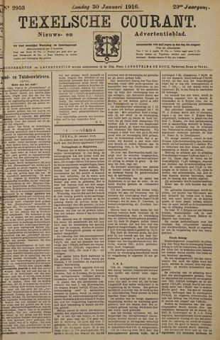 Texelsche Courant 1916-01-30