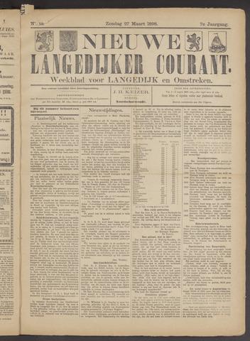 Nieuwe Langedijker Courant 1898-03-27