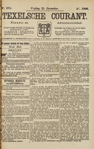 Texelsche Courant 1896-12-25