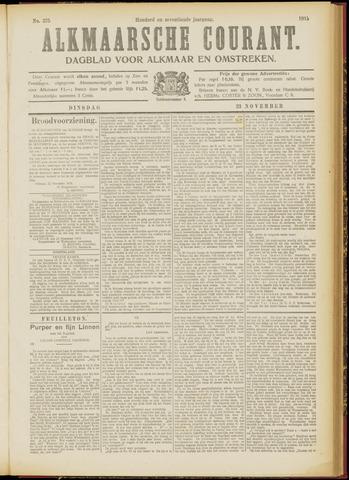 Alkmaarsche Courant 1915-11-23