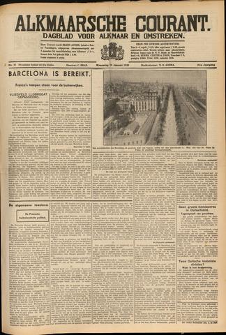 Alkmaarsche Courant 1939-01-25