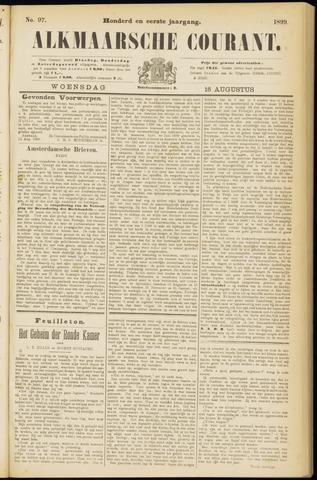 Alkmaarsche Courant 1899-08-16