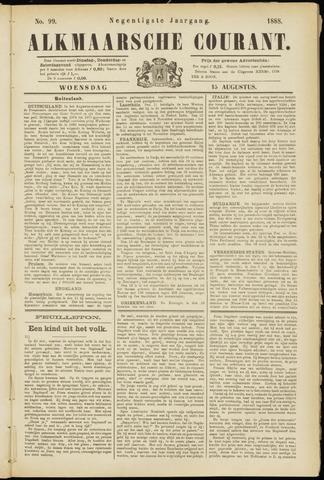 Alkmaarsche Courant 1888-08-15