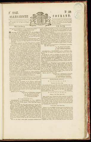 Alkmaarsche Courant 1847-07-19