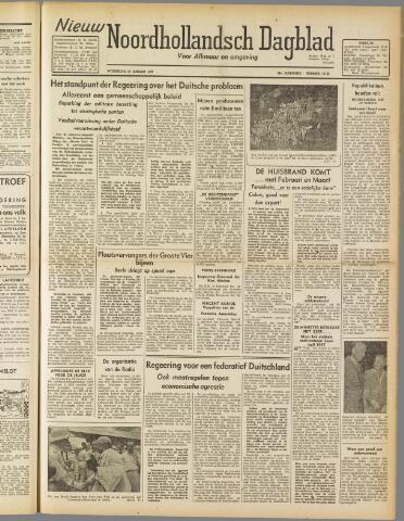 Nieuw Noordhollandsch Dagblad : voor Alkmaar en omgeving 1947-01-15