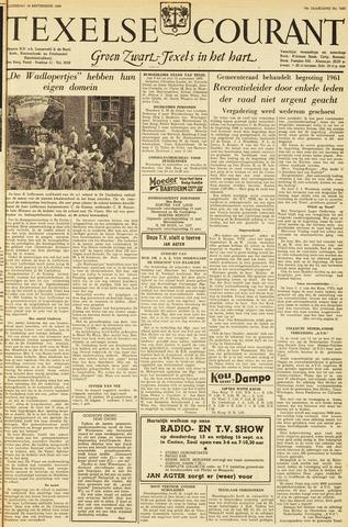 Texelsche Courant 1960-09-10
