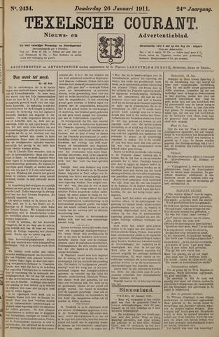 Texelsche Courant 1911-01-26