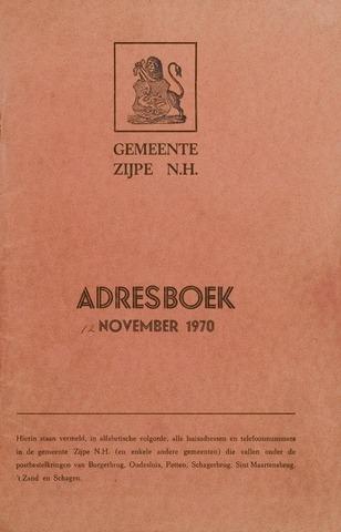 Adresboek van Zijpe 1970-01-01