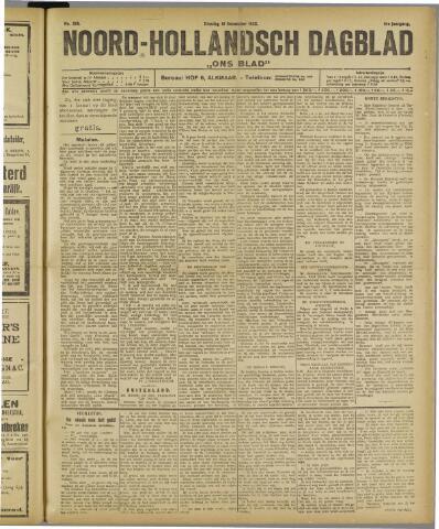 Ons Blad : katholiek nieuwsblad voor N-H 1922-12-19
