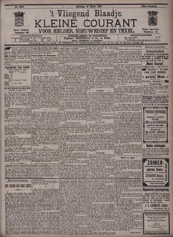 Vliegend blaadje : nieuws- en advertentiebode voor Den Helder 1897-03-27