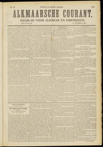Alkmaarsche Courant 1914-02-09