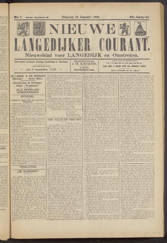 Nieuwe Langedijker Courant 1923-01-16