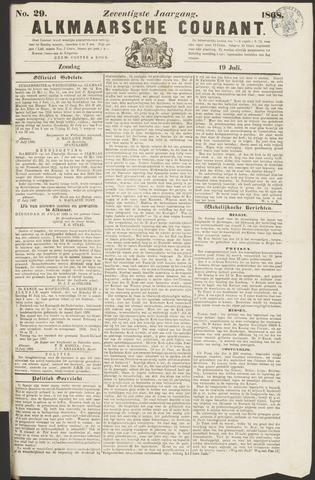 Alkmaarsche Courant 1868-07-19