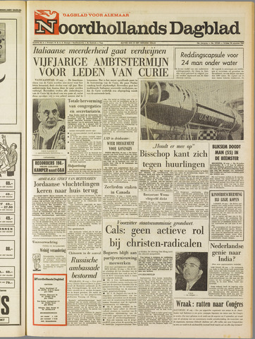 Noordhollands Dagblad : dagblad voor Alkmaar en omgeving 1967-08-18