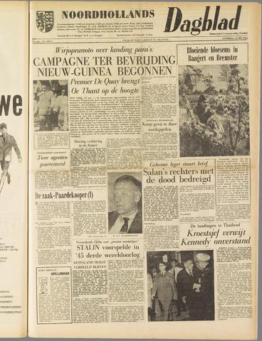 Noordhollands Dagblad : dagblad voor Alkmaar en omgeving 1962-05-19