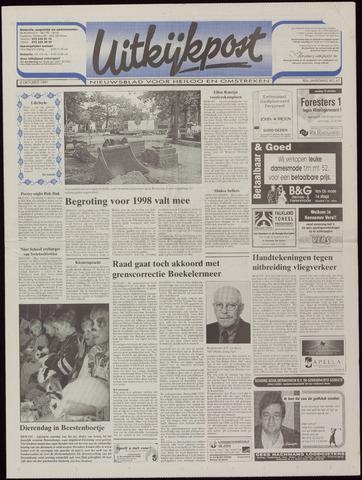 Uitkijkpost : nieuwsblad voor Heiloo e.o. 1997-10-08