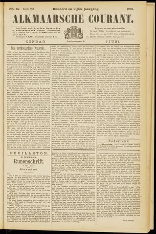 Alkmaarsche Courant 1903-06-07