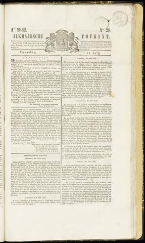 Alkmaarsche Courant 1842-07-11