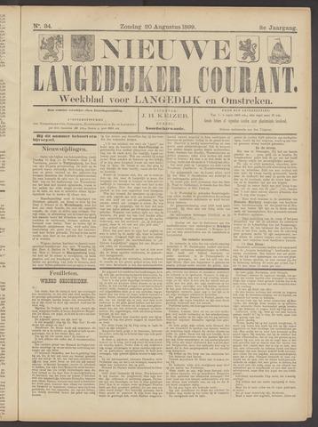 Nieuwe Langedijker Courant 1899-08-20