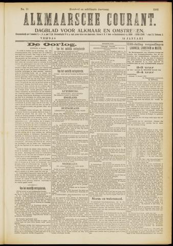 Alkmaarsche Courant 1916-01-14