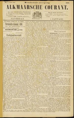 Alkmaarsche Courant 1898-01-01