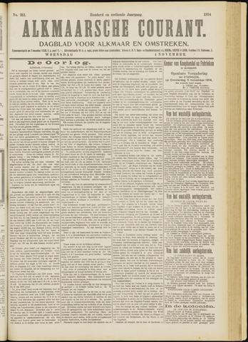 Alkmaarsche Courant 1914-11-04