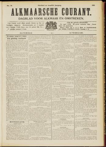 Alkmaarsche Courant 1910-02-12