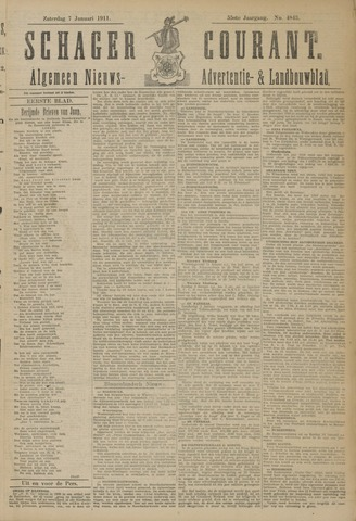 Schager Courant 1911-01-07