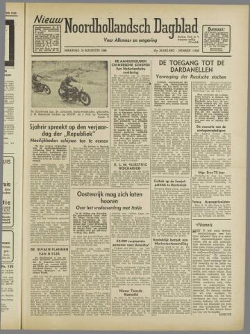 Nieuw Noordhollandsch Dagblad : voor Alkmaar en omgeving 1946-08-19