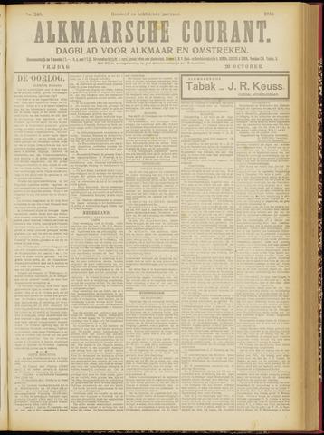 Alkmaarsche Courant 1916-10-20