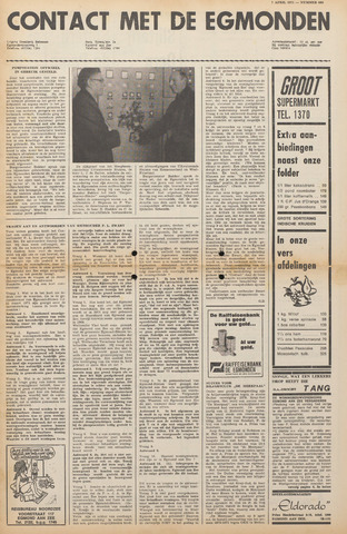 Contact met de Egmonden 1971-04-07