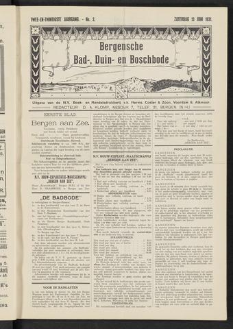 Bergensche bad-, duin- en boschbode 1931-06-13