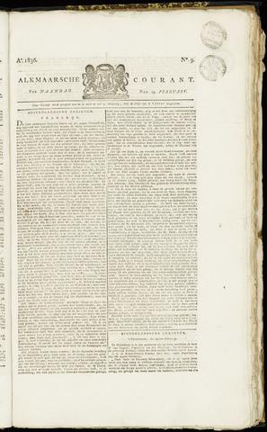 Alkmaarsche Courant 1836-02-29