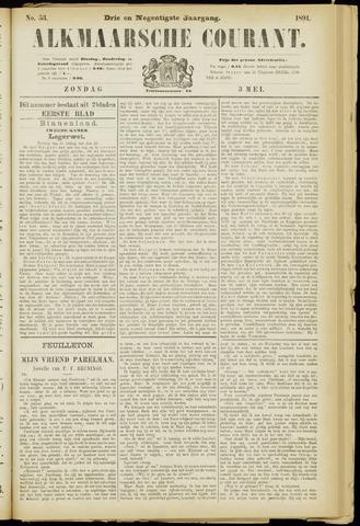 Alkmaarsche Courant 1891-05-03